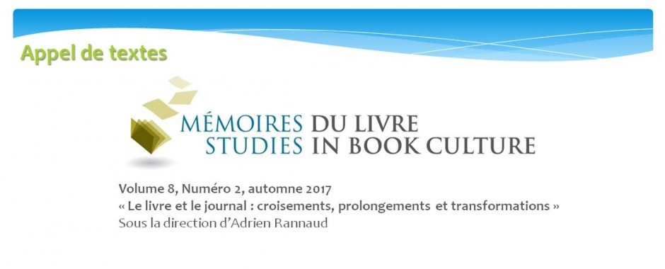 Mémoires du livre