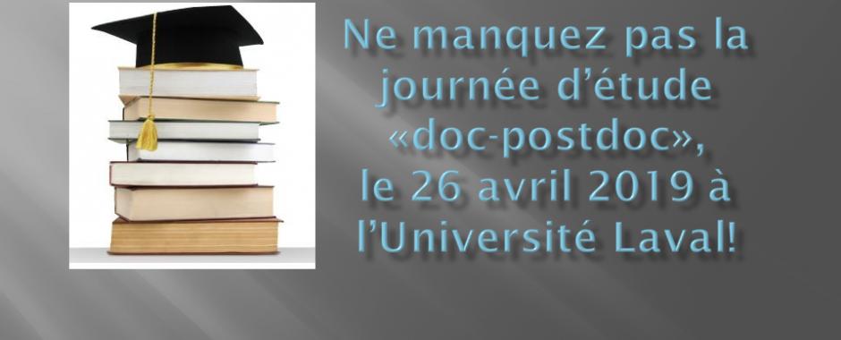 Journée doc-postdoc 2019